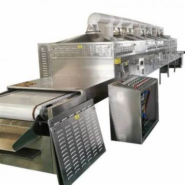 Herbal Ingredients Tea Microwave Drying Green- Removing and Sterilization Machine