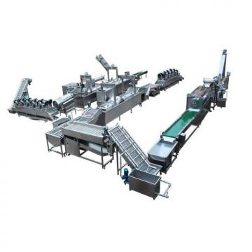 Factory Used 500kg/H Fully Automatic Potato Crisps Making Machine Production Line